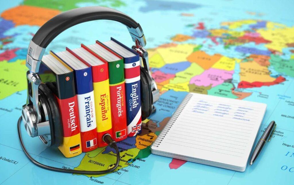 تعلم لغات جديدة