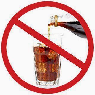 توقف عن شرب المشروبات الغازية